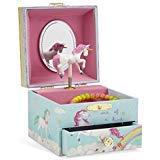 Jewelkeeper - Boîte à Bijoux Musicale, Licorne Arc-en-Ciel, avec Tiroir de Rangement - Mélodie The Unicorn