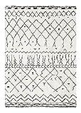 Decoweb Tapis Motif Berbère Dharan (Clair, 80 x 150 cm)