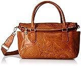 Desigual Dark Amber Loverty Hand Bag Camel