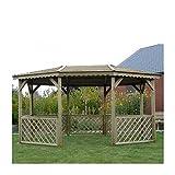 SOLID SUPERIA Pavilion Kiosque, Bois, 445x340x256 cm