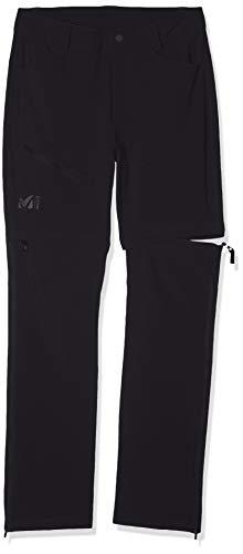 Millet - Trekker Stretch Zip Off Pant II M - Pantalon Convertible Short Homme, Noir (BLACK), 42 prix et achat