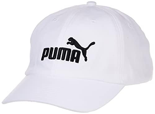 PUMA ESS Cap Chapeau Mixte Adulte, Blanc (white-No,1), Taille Unique