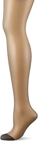 Dim Mes Essentiels Voile Transparent, Collants Femme, 15 Den Gris (Poivre), Large (Taille...
