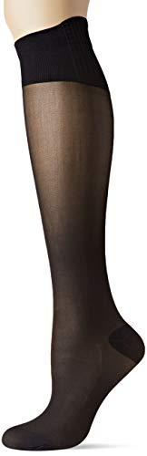 Dim MI-Bas Perfect Contention Transparent 25D Chaussettes Montantes, 25 DEN, Noir (Noir 0hz),...