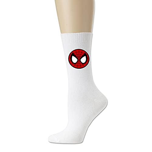 Spiderman Circle Chaussettes de sport en coton anti-odeurs et anti-transpiration pour homme et femme - Blanc - Taille Unique prix et achat