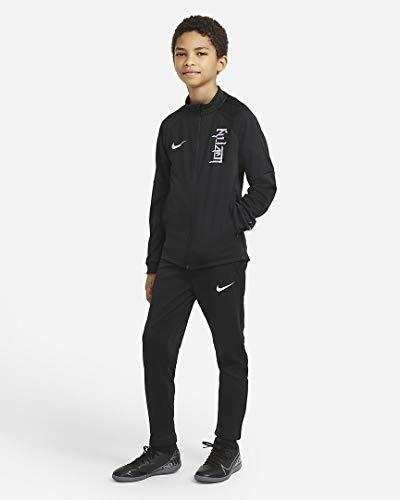 Nike KM Y NK Dry TRK Suit K, Survêtement Mixte Enfant, Black/Black/Black/(Hologram), M prix et achat