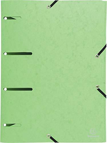 EXACOMPTA 447103E Punchy Chemise en élasthanne 375 g/m² Vert