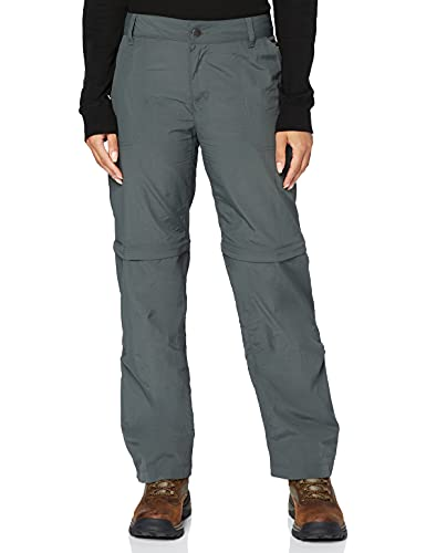 Columbia Silver Ridge 2.0, Pantalon de Randonnée Convertible Femme, Gris (Grill), 8/R