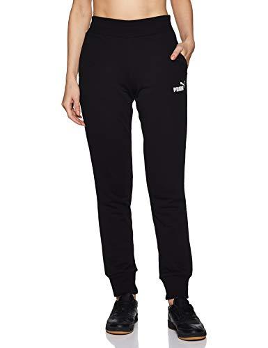 Puma 851826 Pantalons Femme Cotton Black FR : S (Taille Fabricant : S)