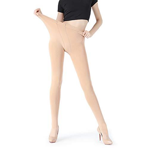JEPOZRA Hiver Collants Épais En Velours Collant Thermique Chaud Pour Femmes, Opaque Legging Chaud(Beige,L) prix et achat