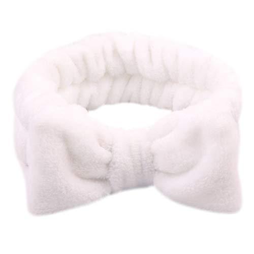 Mentin Bandeau cheveux Femme Pour le maquillage et les soins du visage, Tête de Douche Wrap Hairband Visage SPA élastique (9#) prix et achat