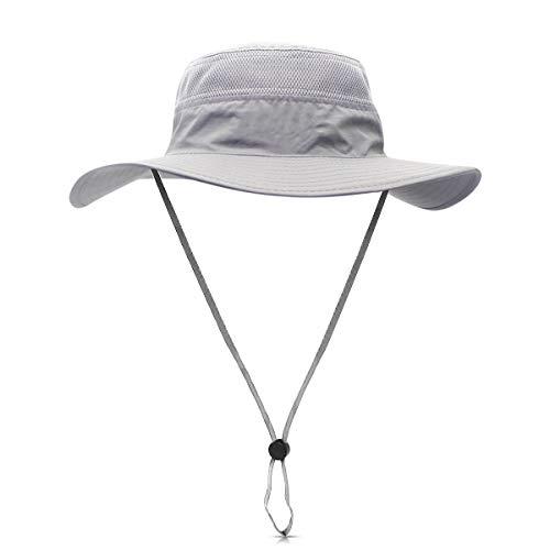 DORRISO Unisexe Chapeau Soleil Pliable UPF 50 + Anti UV Vacances Alpinisme Outdoor Étanche...