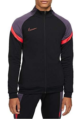 Nike CT2493-014 M NK Dry ACD TRK JKT K FP MX Jacket Mens Black/Black/Siren Red/(Siren Red) M prix et achat