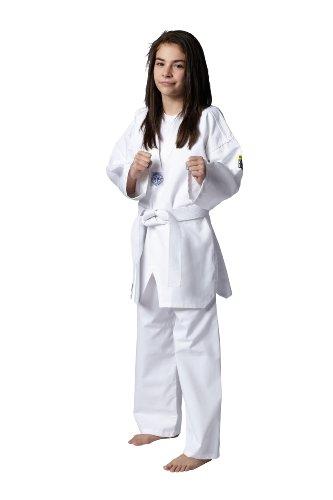 Kwon Kimono pour Enfant Taekwondo Song Blanc Blanc 110 cm
