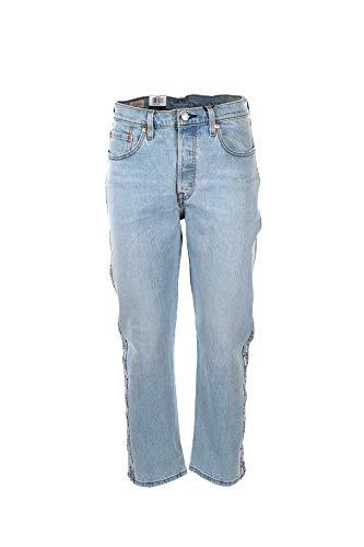 Jeans Levis 501 Crop Dibs Femme 2928 Bleu prix et achat