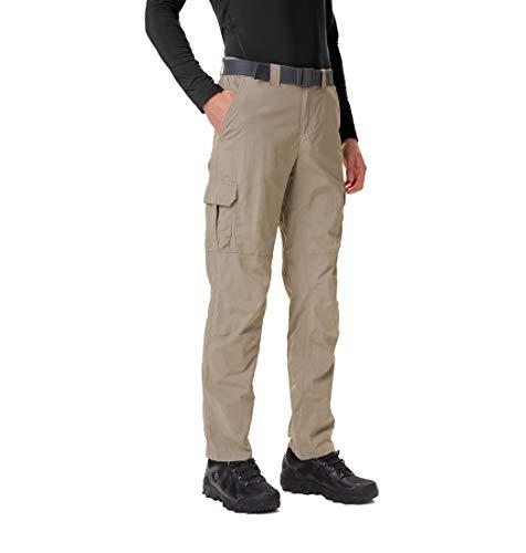 Columbia Silver Ridge II, Pantalon de Randonnée Convertible, Homme, Beige (Tusk), 34W / 32L