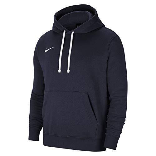 Nike Sweat à Capuche de Football en Molleton pour Homme, Taille M, Obsidienne/Blanc/Blanc CW6894-451