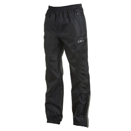CMP Pantalon de Pluie Femme, Noir, 38