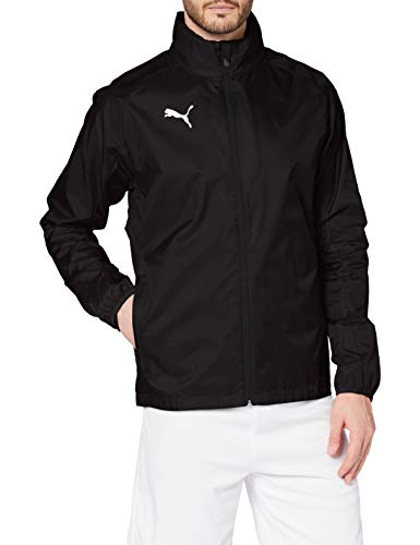 Puma Liga Training Rain Jacket Core Veste Homme, Black White, M