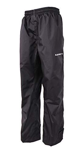 Acme Projects Pantalon de Pluie, 100% imperméable, Respirant, Couture scellée, 10000 mm / 3000 g (Hommes, XXX-Large, Noir)