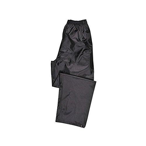 Portwest Pantalon de Pluie Unisex Classic, Couleur: Noir, Taille: XL, S441BKRXL