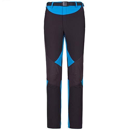 LY4U Femmes Pantalon de randonnée à séchage Rapide résistant à l'eau léger Extensible Respirant Sports de Plein air Escalade Marche Cyclisme Pantalon avec Poches à glissière
