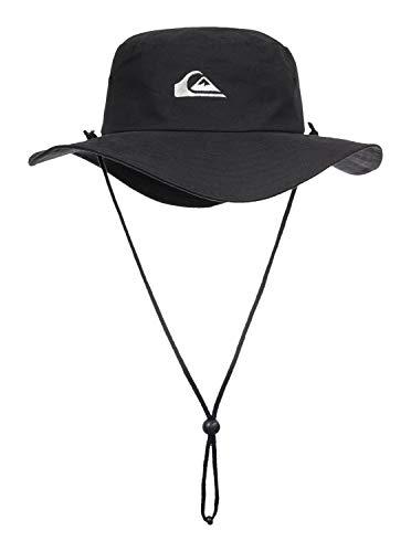 Quiksilver Bushmaster Chapeau Homme, Noir, FR : L (Taille Fabricant : L/XL)