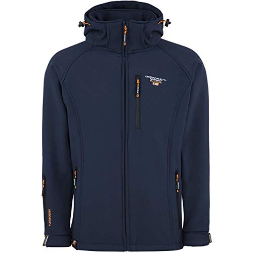 Geographical Norway TABOO MEN - Veste Softshell Homme Impermeable - Manteau Respirant À...