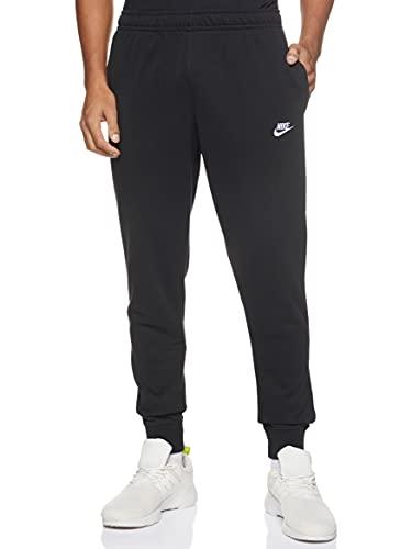Nike M NSW Club JGGR FT Pantalons Homme, Black/Black/White, L prix et achat