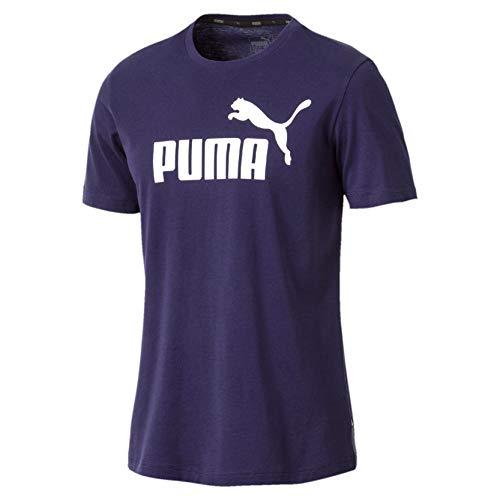 Puma 851740 T-Shirt Homme Bleu (Peacoat), L