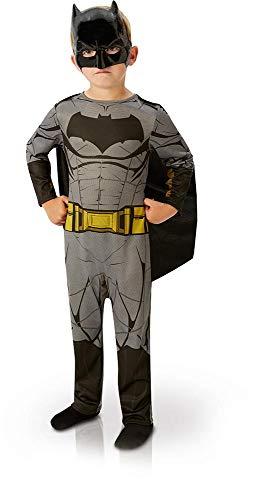 Rubie's Déguisement Classique Batman Justice League, Taille S, 3-4 Ans, Garçon, Height 104 cm, Multicouleur, I-640807S - Version Anglaise
