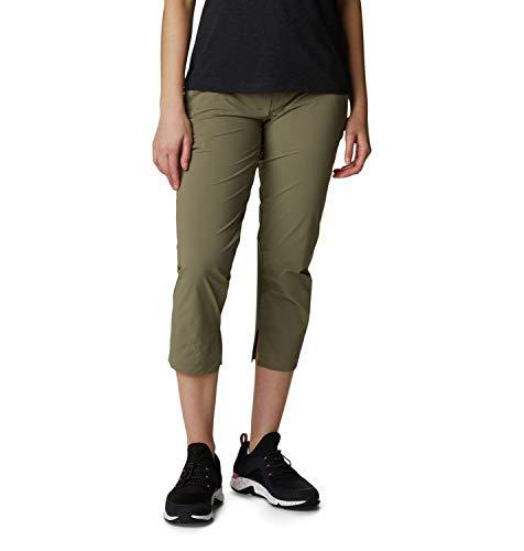 Columbia Muir Pass II Pantalon de Randonnée Femme, Vert (Stone Green), FR : L (Taille Fabricant : W14/R)