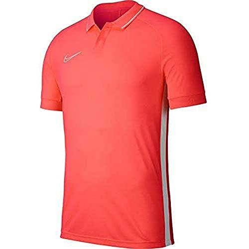 Nike Academy19 Polo Polo Enfant Bright Crimson/Bright Crimson/Blanc FR : M (Taille Fabricant : M) prix et achat