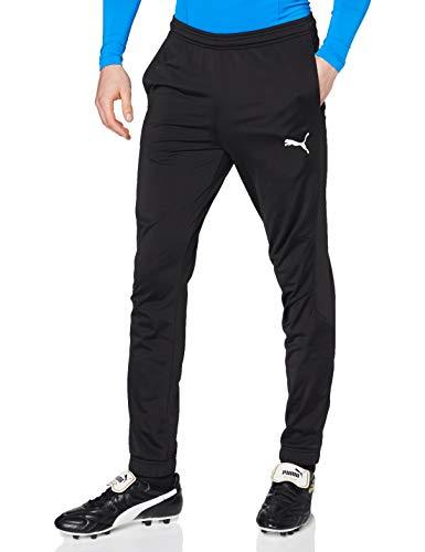 Puma Liga Sideline Poly Pant Core Pantalons Homme, Black White, L