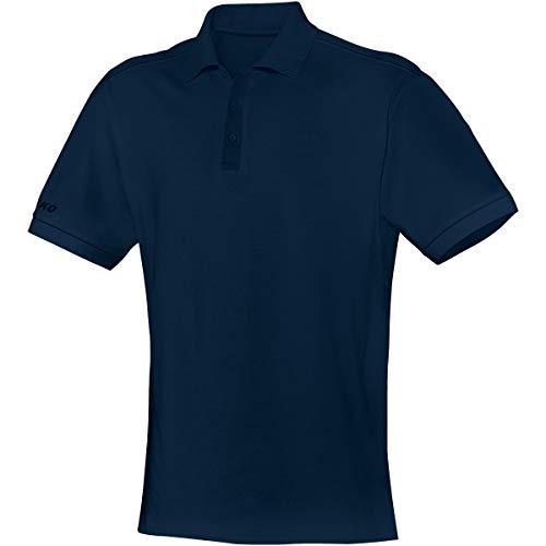 JAKO Polo Team pour Enfant, Bleu, 164, 6333, Mixte Enfant, Polo Team, 6333, Marine, 140 cm
