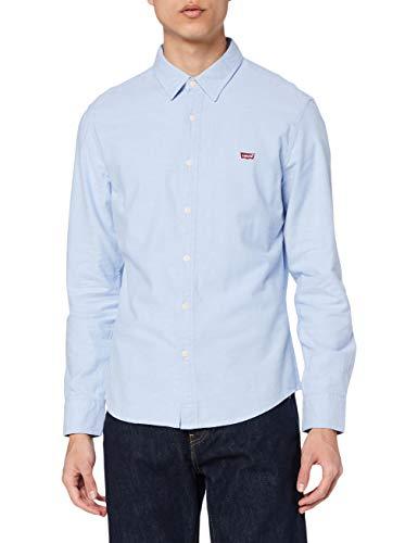 Levi's Ls Battery HM Shirt Slim Chemise Casual, Blue (Allure 0005), X-Large Homme