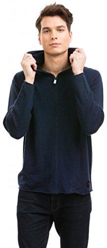 Citizen Cashmere Sweat Homme (Hoodie) - 100% Cachemire (Bleu Marine), S (42 102-03-01)