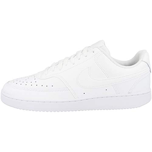 Nike Court Vision Low, Sneakers Basses Homme, Blanc (White/White-Black 102), 45 EU prix et achat