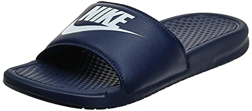 Nike Benassi JDI, Claquette Homme, Bleu (Midnight Navy/Windchill 403), Numeric_45 EU prix et achat