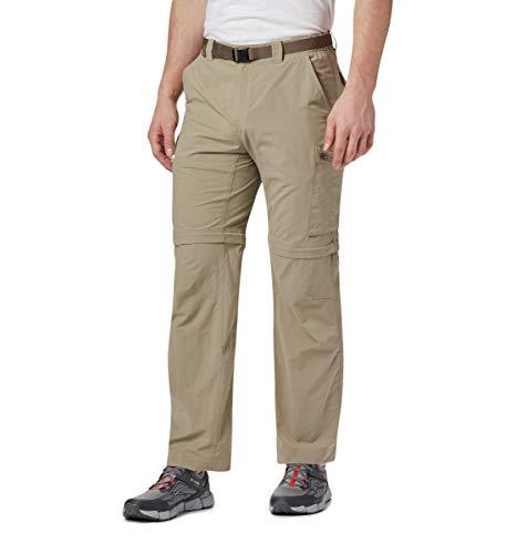 Les hommes Columbia Sportswear Pantalon convertible Silver Ridge, Tusk, 50 x 34