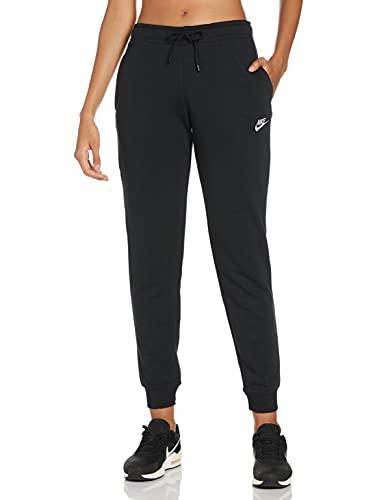 Nike W NSW Essntl Pant REG FLC Pantalon de Sport Femme Black/(White) FR: XS (Taille Fabricant: XS) prix et achat
