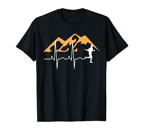 Trail Running Course de Fond Course de Montagne Marathon T-Shirt