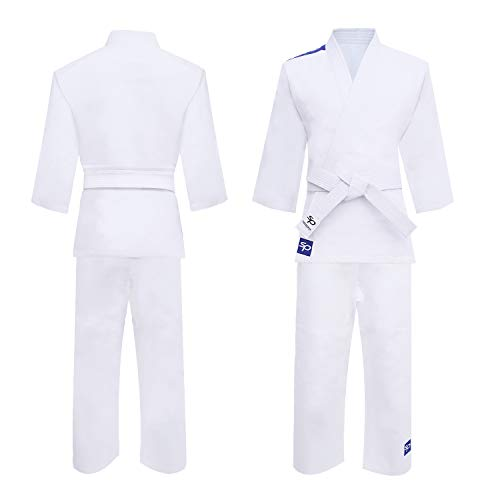 Starpro Judo Kimono Gi 250 grammes | Mélange de Coton de qualité supérieure | Blanc | Judogi...