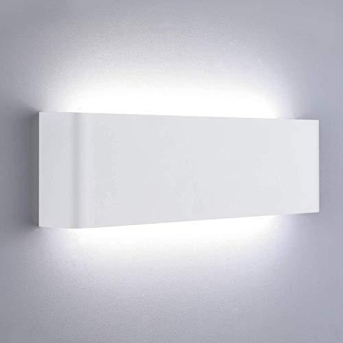 Lightess Applique Murale Interieur LED 16W Lampe Murale Blanc...