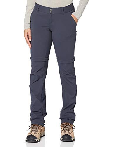 Columbia Saturday Trail II Pantalon de Randonnée Convertible Femme India Ink FR : M (Taille Fabricant : 8/L)