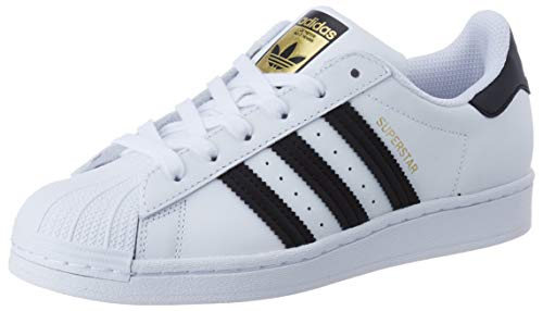 adidas Superstar W, Basket Femme, FTWR White Core Black FTWR White, 38 2/3 EU