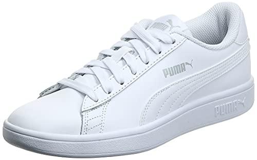 PUMA Smash v2 L', Baskets Mixte, Blanc White White, 38 EU prix et achat