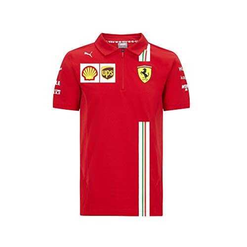 Official Formula One - Scuderia Ferrari 2020 - Enfant écurie Puma Polo - Size: 128