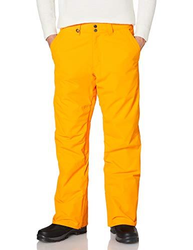 Quiksilver Estate-Pantalon de Snow/Ski pour Homme, Flame Orange, FR : L (Taille Fabricant : L)