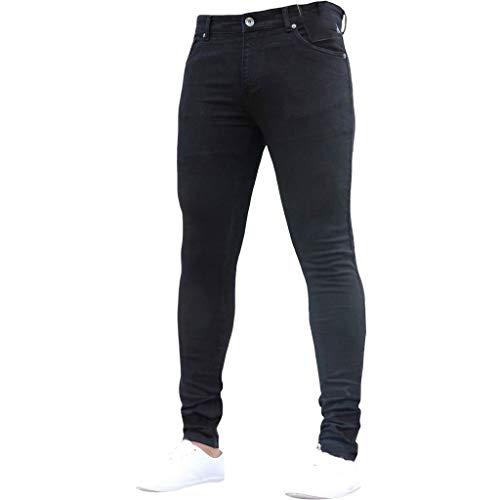 WINJIN Jeans Droit Homme Pantalon Slim Jean Déchiré Trou Jeans Slim Pantalon De Sport Jogging Cargo Pantalon de Travail Homme Joggers Homme Pantalons Danse Pants Jogger Homme Jean Droit Homme prix et achat